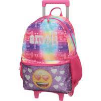 Mala C/Carrin G Emoji By Pack Me Rainbow Rosa