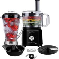 Multiprocessador De Alimentos Britânia All In One 3 Em 1 Bmp900P 900W 110 Volts