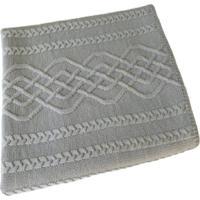 Manta Tricot Decorativa Cama Sofだ120Cm X 150Cm Cod 1026.5 Cinza Claro - Estampado - Feminino - Dafiti