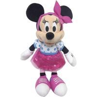 Pelúcia 18 Cm - Disney - Minnie Mouse - Dtc - Unissex