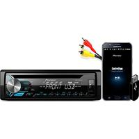 Auto Radio Cd/Usb/Am/Fm Deh-X1980Ub Preto Pioneer