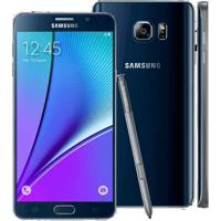 "Smartphone Samsung Galaxy Note 5 N920G - Preto - 32Gb - 16Mp - 4G - Tela 5.7"" - Android 5.1"