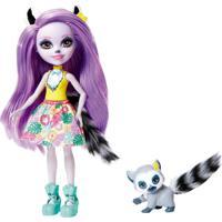 Boneca Enchantimals Bichinhos Lemur E Ringlet - Mattel - Kanui