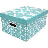 Caixa Organizadora Para Closet G Baby Desmontã¡Vel- Verdeboxmania