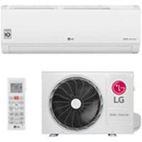 Ar Condicionado Split Hw Dual Inverter Voice Lg Com 24.000 Btus, Frio, Turbo, Branco - S4Nq24K231D.Eb2Gamz