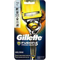 Aparelho De Barbear Gillette Fusion Proshield Com 1 Unidade + 1 Cartucho
