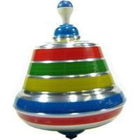 Pião Sonoro 100% Artesanal Multicolorido