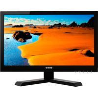 """Monitor Led 15.6"""" Cce Mc1501 - Widescreen - Resolução 1366X768 - Entrada Vga"""
