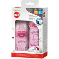 Mamadeiras My First - 150 Ml E 300 Ml - Nuk - Feminino-Rosa