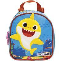 Lancheira Com Alça - 21X19 Cm - Baby Shark - Plush - Xeryus