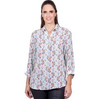 Blusa Love Poetry Floral Azul