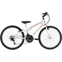 Bicicleta Aro 24 Status Belíssima 18 Marchas - Unissex