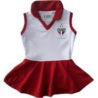 Vestido Polo Bebê São Paulo - Torcida Baby