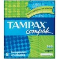 Absorvente Interno Tampax Compak Super Com 8 Unidades