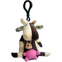 Chaveirinho Infantil Deglingos Mini Milkos, A Vaca Feminino - Feminino