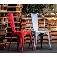 Cadeira Francesinha Cinza