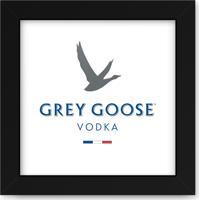 Quadro Adoraria Vodka Grey Preto