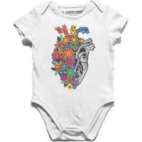 Flores De Crochê - Body Infantil