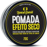 Pomada Beard Brasil Efeito Seco 70 Gr - Preto - Masculino - Dafiti
