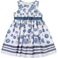 Vestido Marisol Branco Bebê Menina