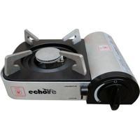 Fogareiro Echolife Alu Compact Com Ignição Eletrônica E Acendedor Automático - Unissex