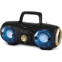 Boombox Usb/Bluetooth/Mp3 100W Preto Philco Bivolt Pb0400Bt