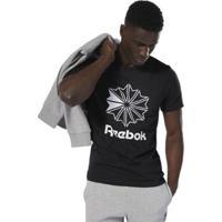 Camiseta Reebok Classics Big Logo Masculina - Masculino-Preto