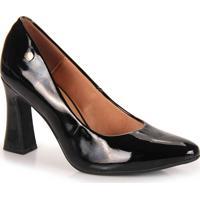 Sapato Salto Feminino Vizzano - Preto