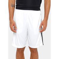 Short Adidas D2M 3S Masculino - Masculino-Branco
