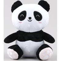 Urso Panda De Pelúcia Preto