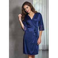 Robe Nupcial Azul Marinho 31005 Demillus