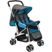 Carrinho De Bebê Multikids Flip 0 A 15Kg - Unissex-Azul