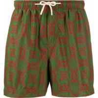Peninsula Swimwear Short De Natação Lipari M3 - Verde