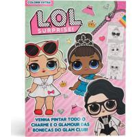 Boneca L.O.L. Livros De Atividades Coleções Leiturinha Livro Multicolorido