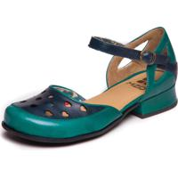 Sapato Mzq Boneca Azul - Cobalto / Passiflora 7718