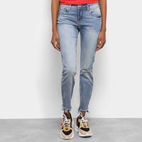 ba6c99bdb ... Calça Jeans Cropped Colcci Destroyed Feminina - Feminino