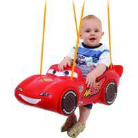 Balanço Xalingo De Pendurar - Disney Cars - Vermelho