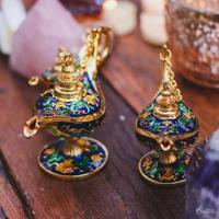 Lâmpada Do Aladdin Pequena - Azul