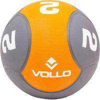 Bola Medicine Ball Vollo 2 Kg Borracha Vp1002