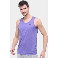 Camiseta Regata Oakley Dynamic Masculina - Masculino-Lilás