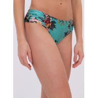 Biquíni Sunkini Com Lateral Drapeada Estampa Floral