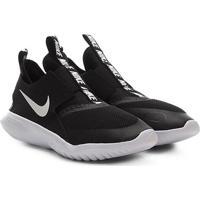 Tênis Juvenil Nike Flex Runner Gs - Unissex-Preto+Branco