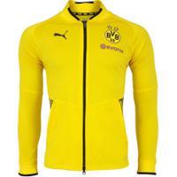 Jaqueta Borussia Dortmund Stadium 17/18 Puma - Masculina - Amarelo