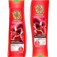 Kit Shampoo + Condicionador Herbal Essences Long Term Relationship Kit - Unissex-Incolor