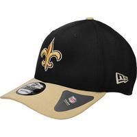 Boné New Orleans Saints New Era Aba Curva Nfl 940 Hc Sn Basic - Unissex de1edee89cf