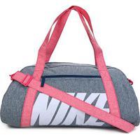 Bolsa Nike Gym Club Feminina - 30 Litros - Unissex-Marinho+Rosa