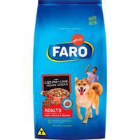 Ração Para Cães Faro Adultos Sabor Cozido De Carne E Cereais 15Kg