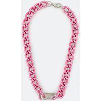 Colar Maxi Trendy Corrente Com Fecho   Accessories   Rosa   U