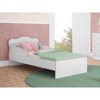 Mini Cama Docê Sonho Branco/Rosa - Lc Móveis