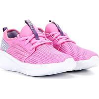 Tênis Infantil Skechers Go Run Fast Feminino - Feminino-Rosa+Lilás